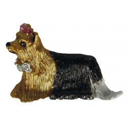 Dog Brooch - Yorkshire Terrier Was £12.95