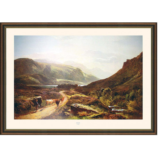 Loch Long Print By S R Perry