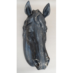 Wall Mount Horse Head Bust