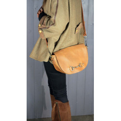 Haston Bag In Tan Leather