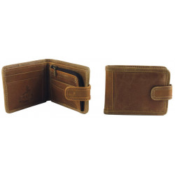 Shenton Wallet In Tan Leather
