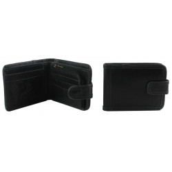 Shenton Wallet In Black Leather