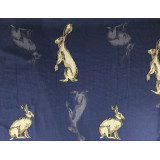 Scarf Hare Navy