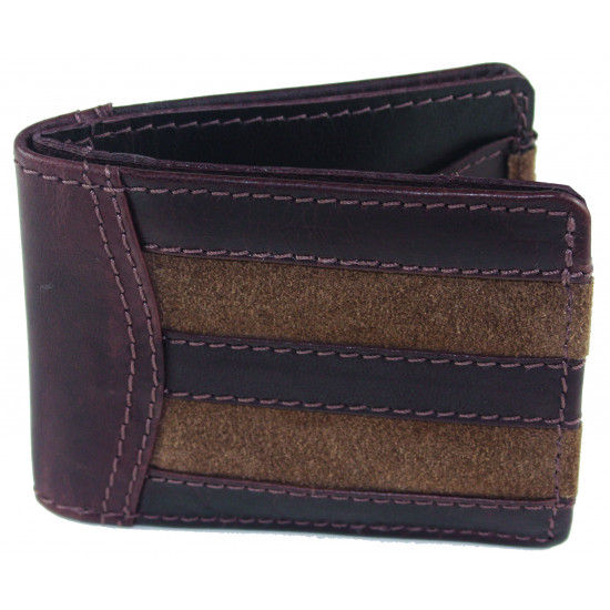 Angus Wallet In Brown Was £40