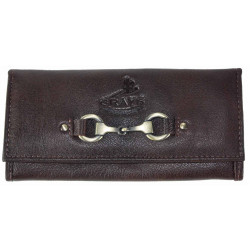 Lily Purse In Fine Leather Brown