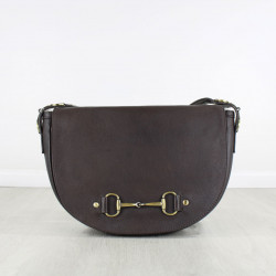 Haston Bag In Fine Leather Brown