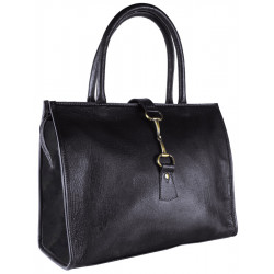Alice Bag Leather and Suede Black Was £125