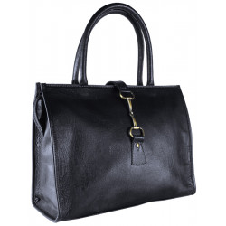 Alice Bag Fine Leather Black Was £125