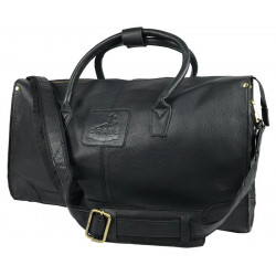 Copeland Holdall Fine Leather Black Was £175