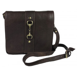 Julia Side Bag Fine Leather Brown