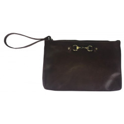 Victoria Clutch Bag Brown Was £65