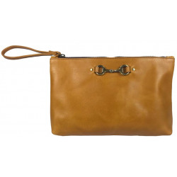 Victoria Clutch Bag Tan Was £65