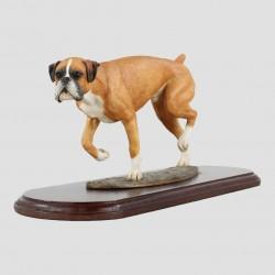 Boxer Tan On Plinth