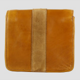 Julia Side Bag Natural Leather Suede Tan