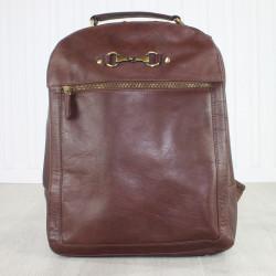 Kirsty Rucksack Natural Leather Brown