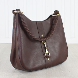 Joanna Handbag Natural Leather Brown