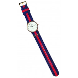 Grays Horse Watch With Red Strap