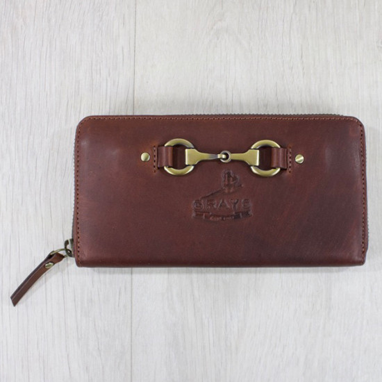 Sally Purse Soft Leather Brown