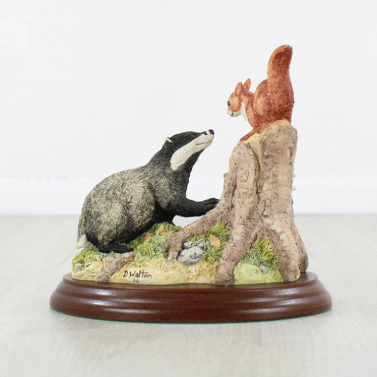 Badger And Squirell