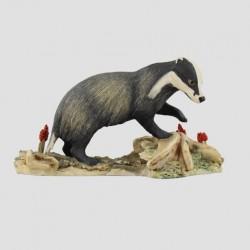 Badger Walking