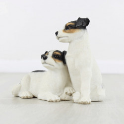 Jack Russell Terrier And Pup