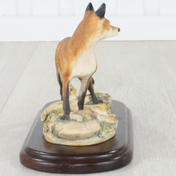 Fox Standing Style One By Mairi Laing Hunt
