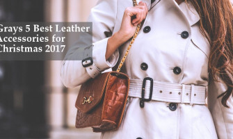 Gray's 5 best Leather Accessories for Christmas