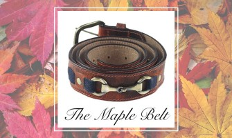 Our Equestrian Inspired Leather Snaffle Bit Belt – The Maple Belt